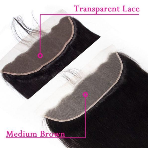 13×4 transparent lace closure 3