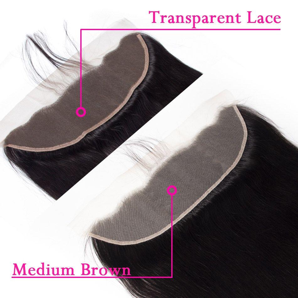 13x4 transparent lace closure 3