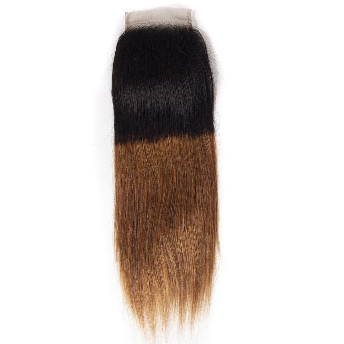 Ombre 1B 30 Straight Hair Lace Closure
