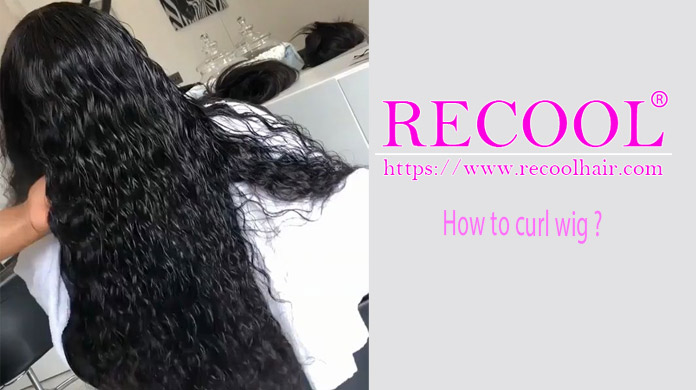 How to curl wig