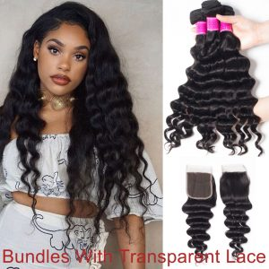 uman-Hair-Weave-With-Transparent-Lace-Closure