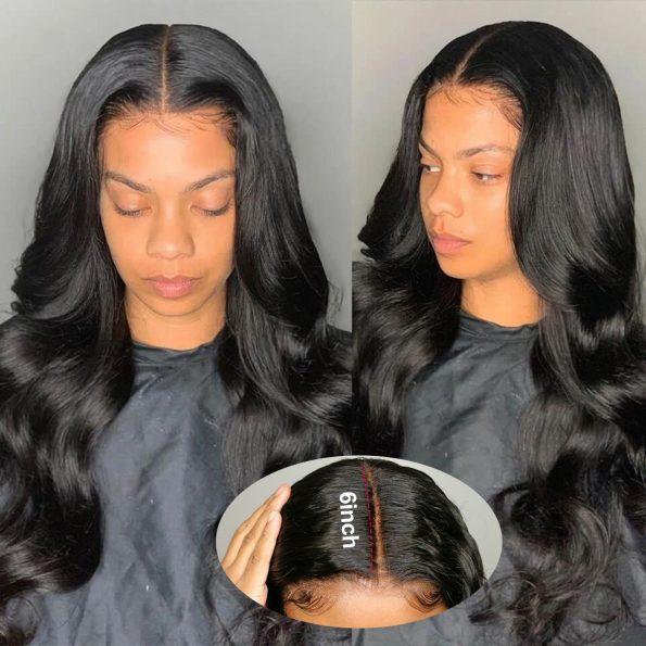 13×6 body wave wig 1