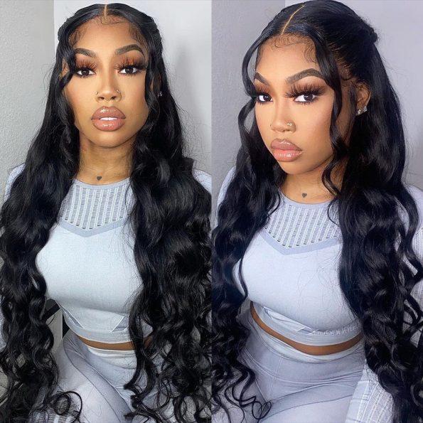 body wave wig 16