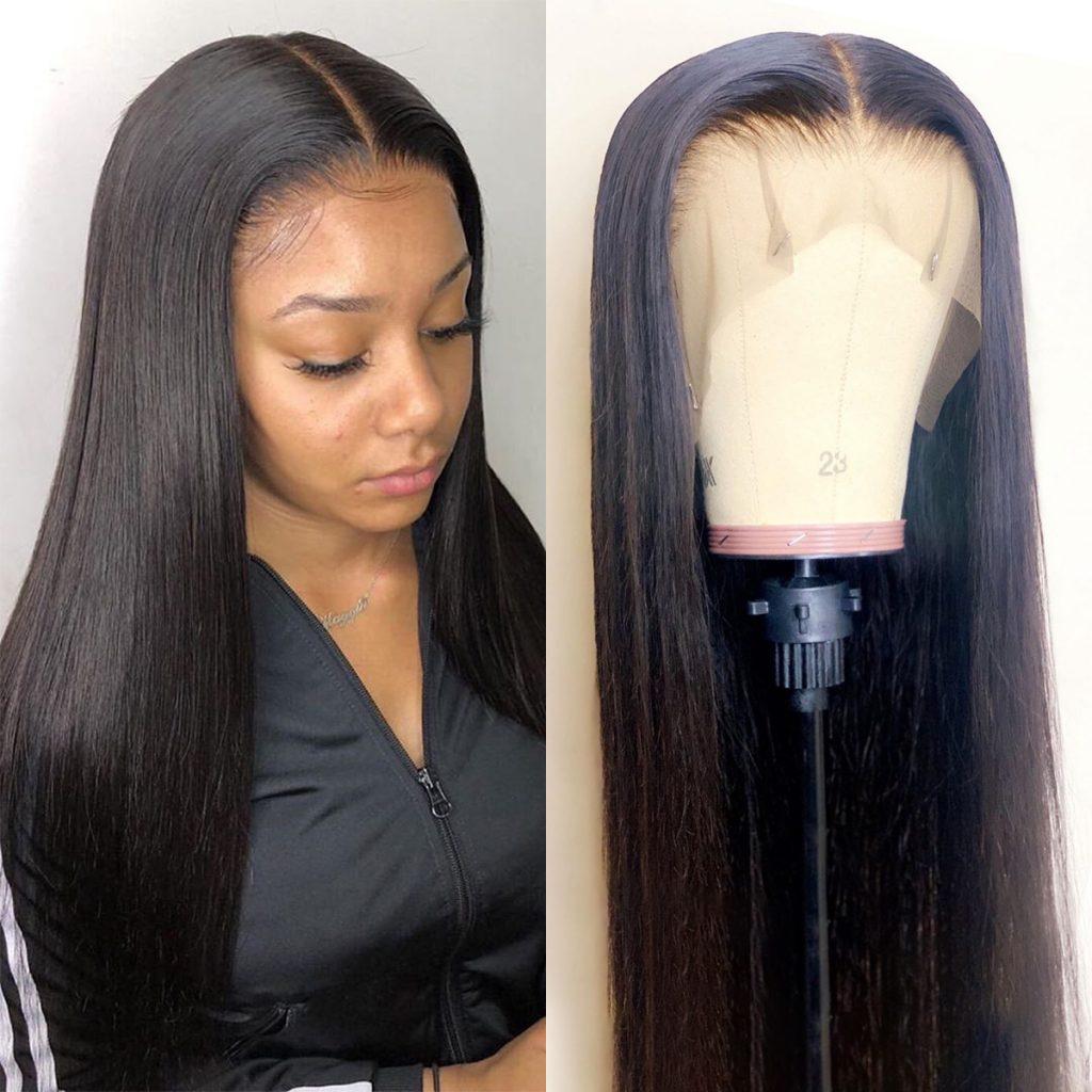 13×6 straight wig