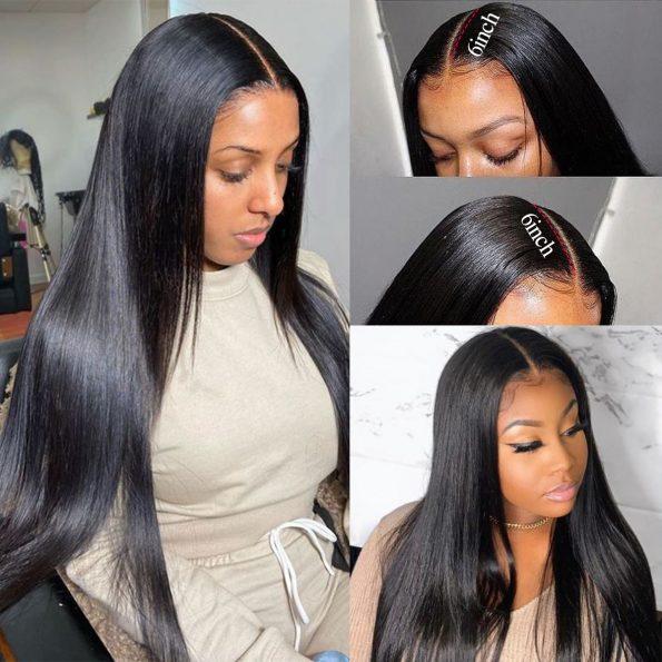 13×6 straight wig 4