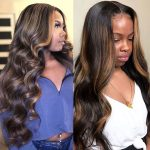 highlight body wave wig