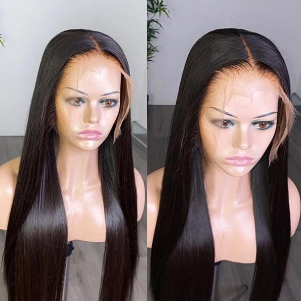 HD lace straight wig