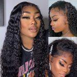 HD deep wave lace wig