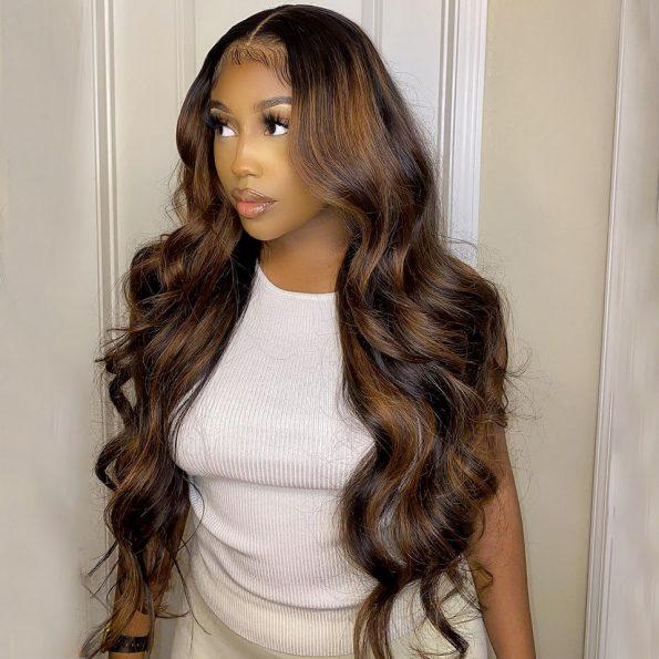 highlight 30 body wave wig 2