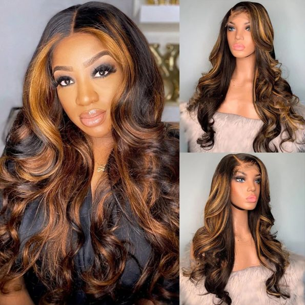 highlight body wave wig 2