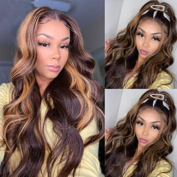 highlight body wave wig 4