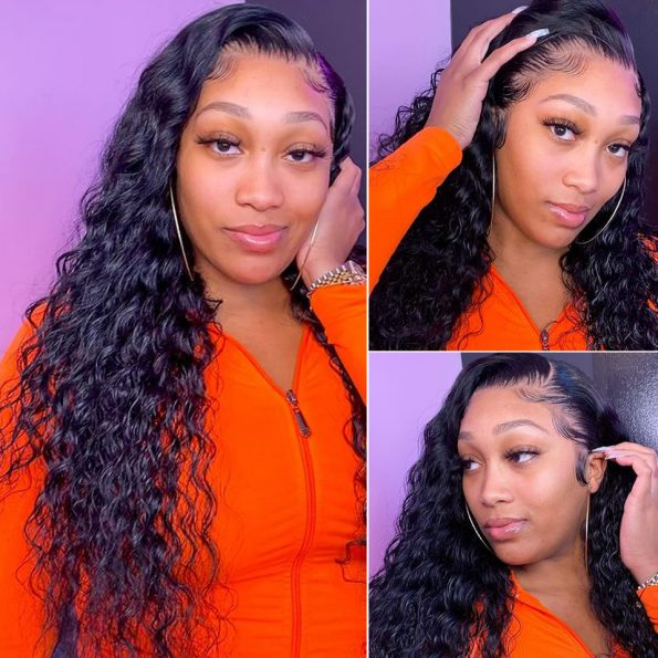 water wave HD 13×4 lace front wig