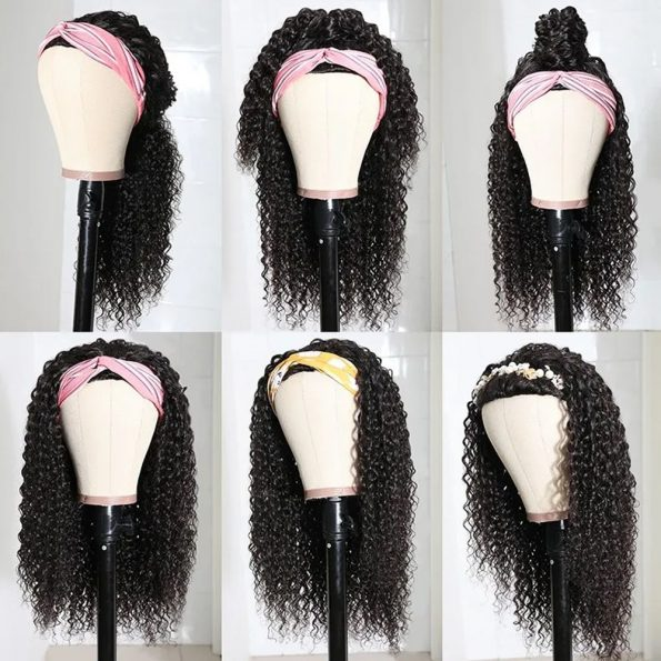 kinky curly headband wig (3)