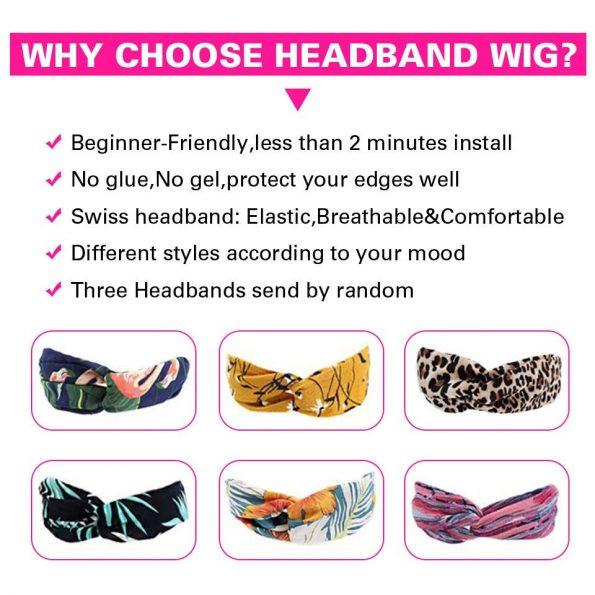 why chose headband wig