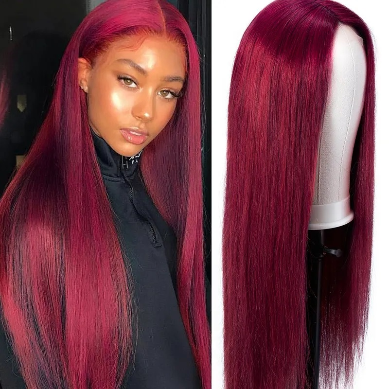 99j straight 5×5 lace wig (3)