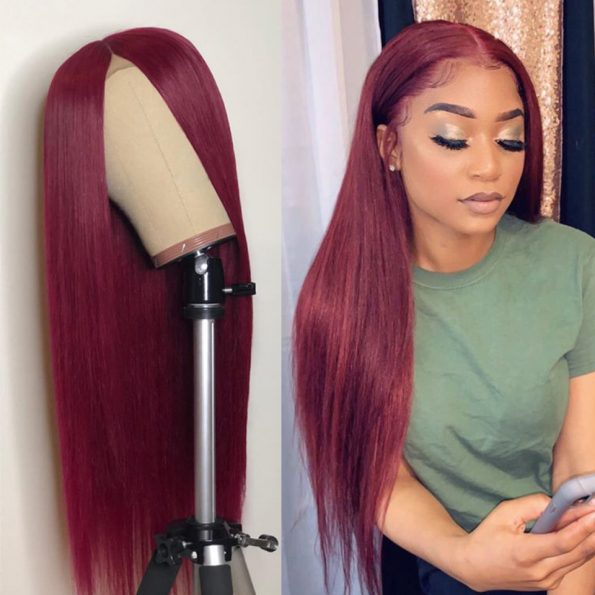 99j straight 5×5 lace wig (4)