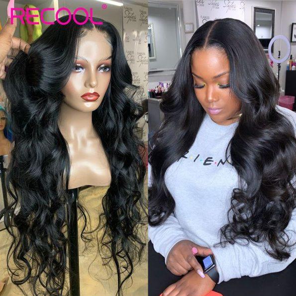 body wave HD lace closure wig (4)