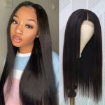 HD 5×5 lace wig straight