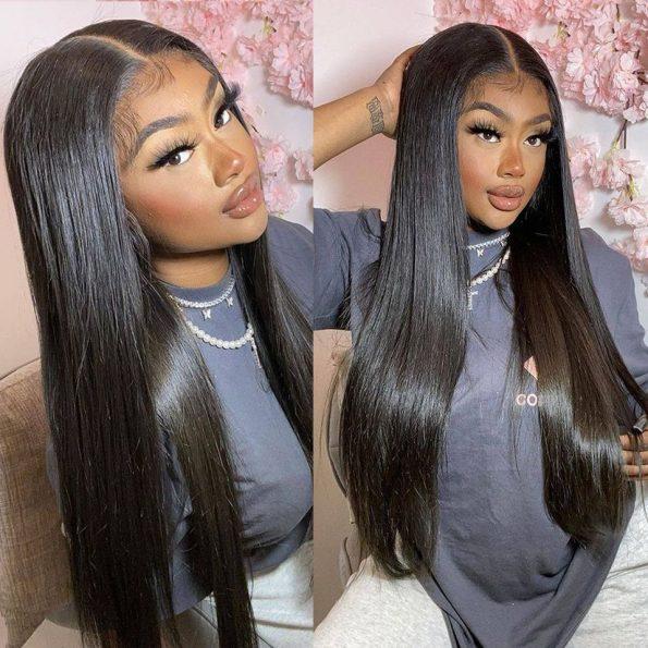 straight HD lace closure wig (4)