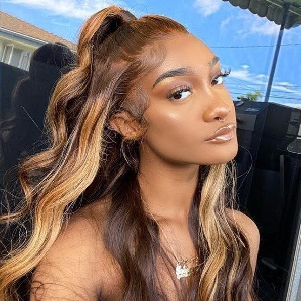 427 highlight wig body wave 4