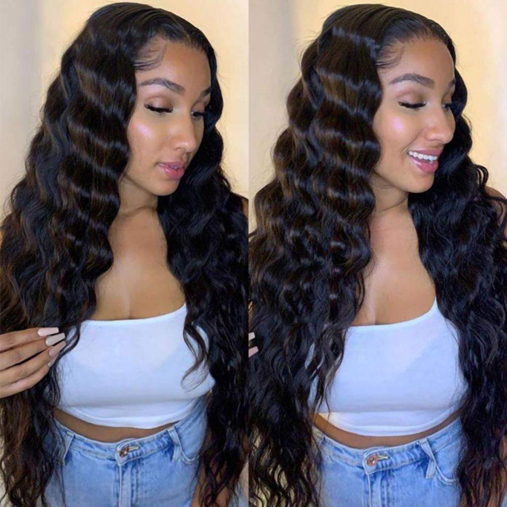 13×6 loose deep wave wig (2)
