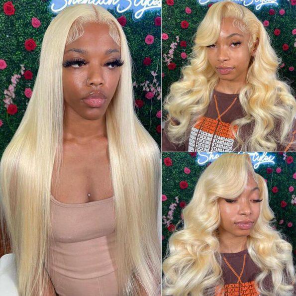 613 blonde straight wig 3