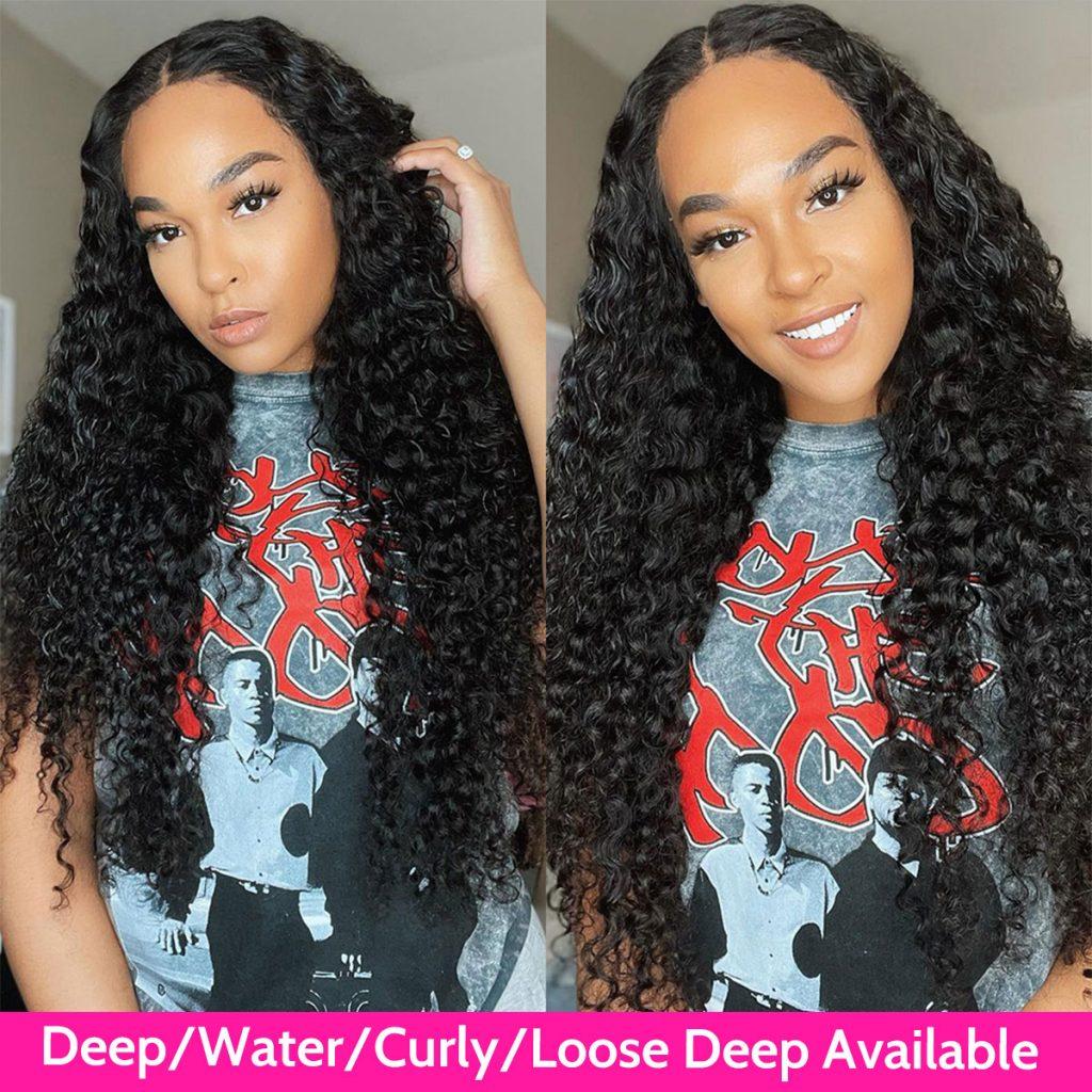 deep wave 4×4 wig