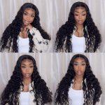 HD lace loose deep wave wig