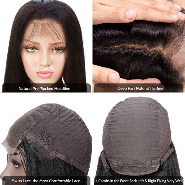 5×5 lace wig cap