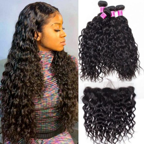 brazilian water wave with frontal