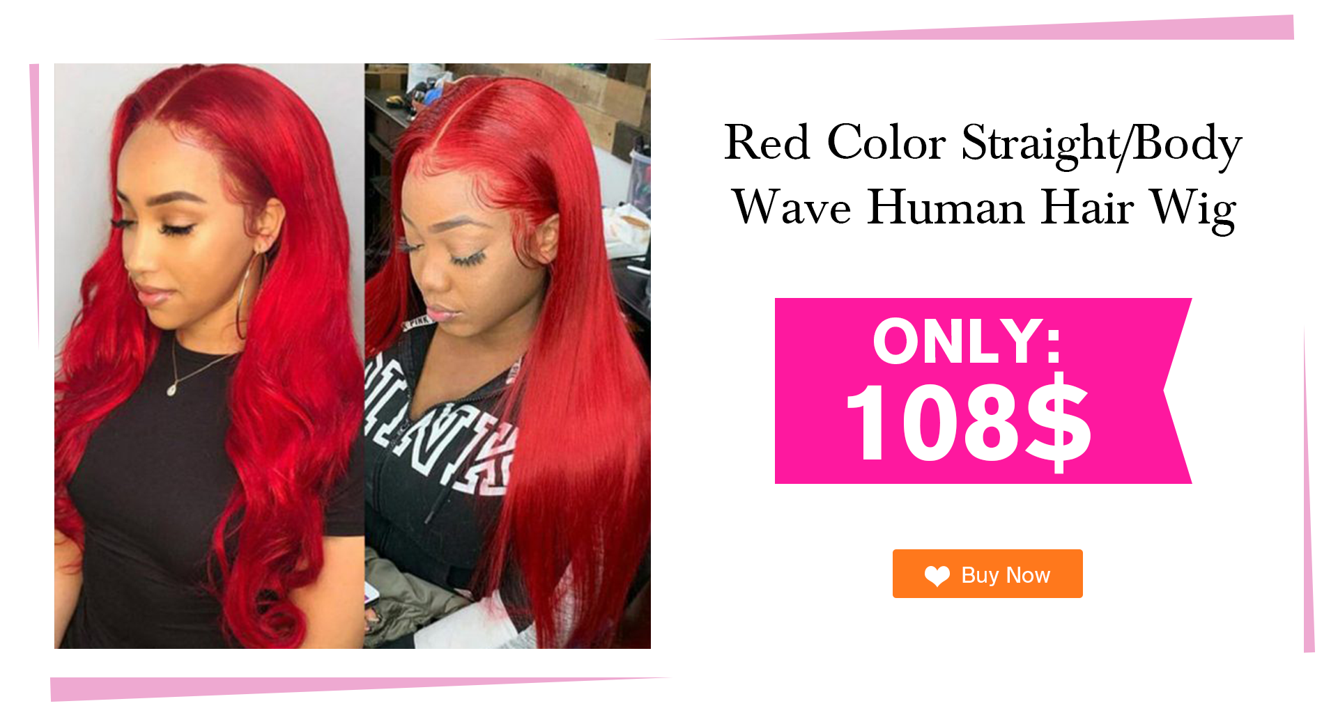 red_color_straight_body_wave